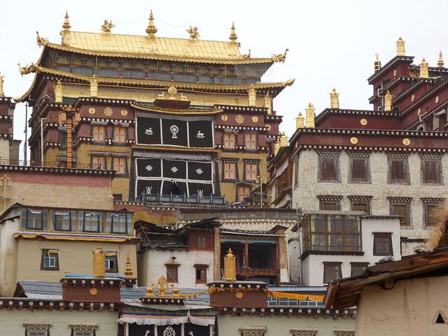 Monasterio Songzanlin en Shangri-La (Yunnan, China)