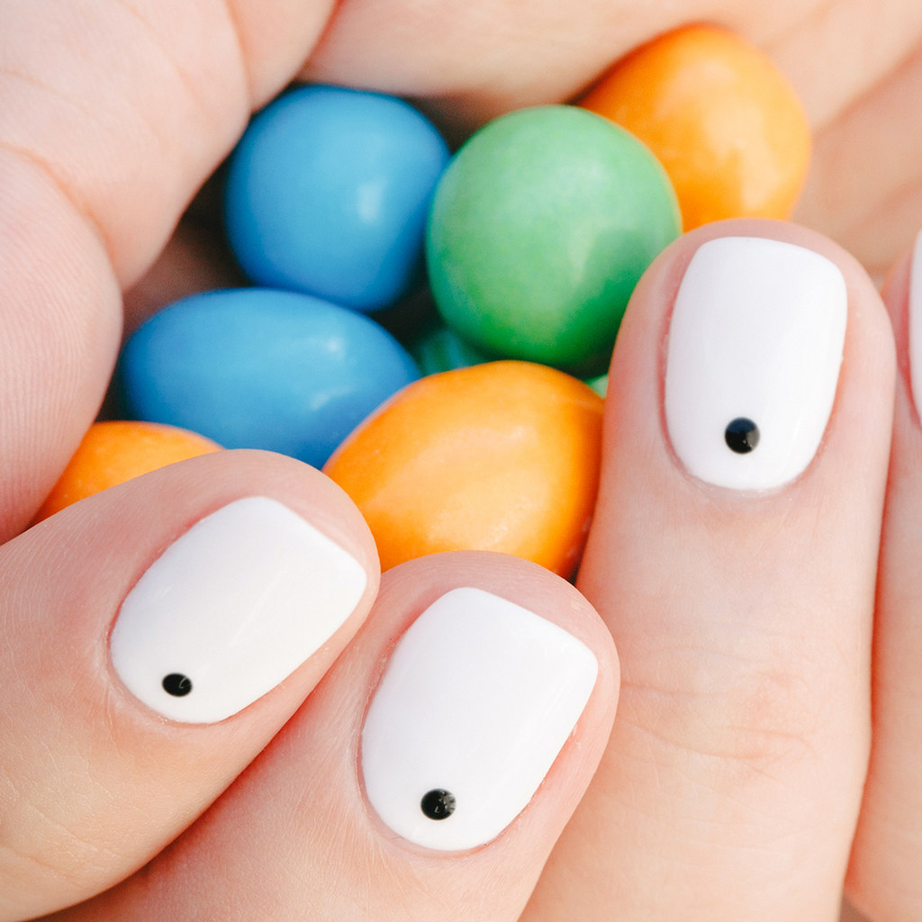 Ногти в стиле стиляг фото