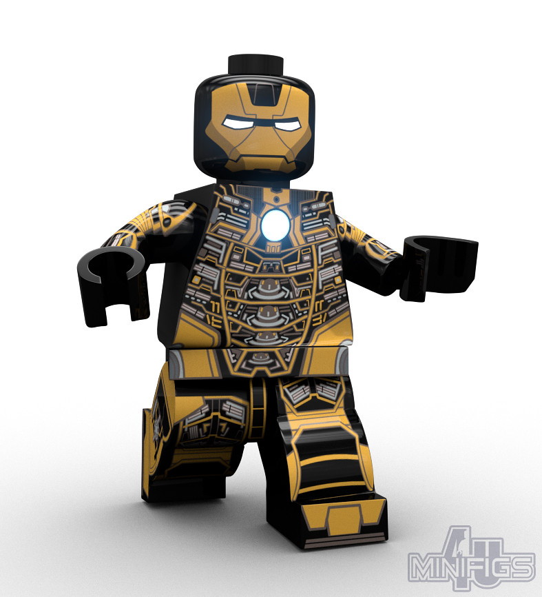 Iron Man Mark 41 Bones Armor - LEGO Super Heroes | So our ...