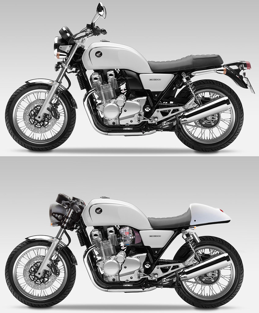 Honda Cb1100 2017 >> CB1100 Cafe Racer Modifications | Needs some rear-sets too. | Flickr