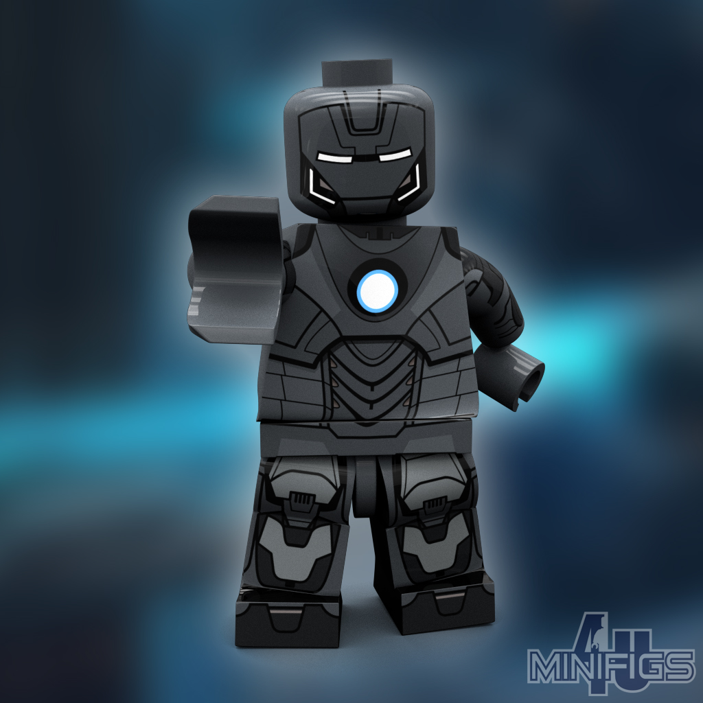 Iron Man Mark 14 Armor - LEGO Super Heroes | So, heres the ...