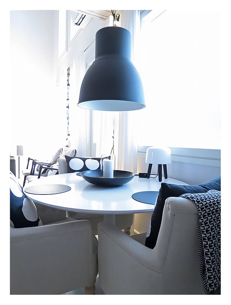 ikea hektar ceiling lamp this lamp was so inexpensive. Black Bedroom Furniture Sets. Home Design Ideas