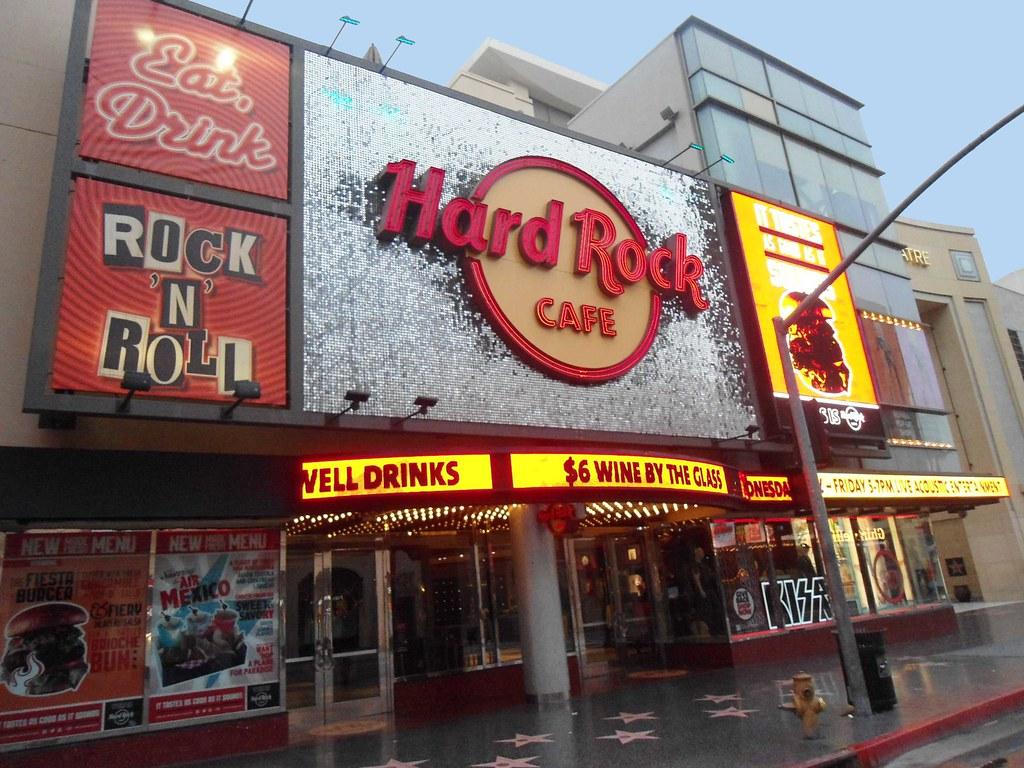 Hard Rock Cafe Hollywood Ca