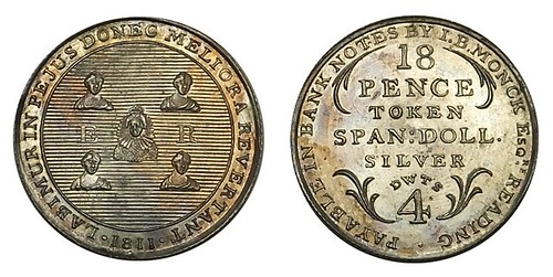 1672 Lot in 2015-06 Numismatic Auctions sale