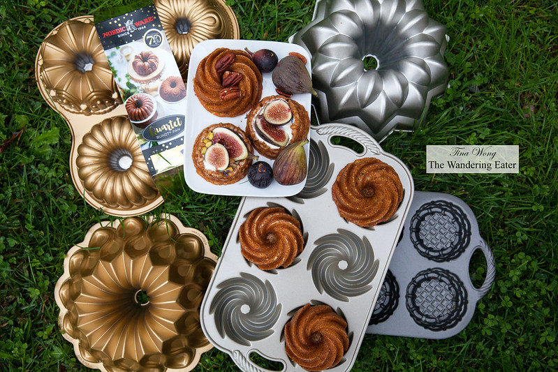 Nordicware pans and cakes baked with it