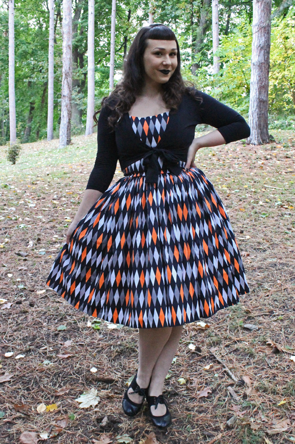 pinup girl clothing jenny dress halloween harlequin