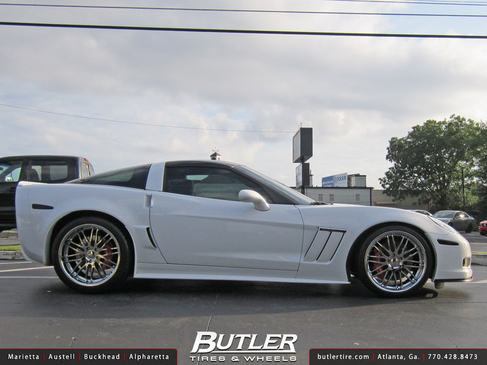 Chevy Corvette Grand Sport With 20in Cray Hawk Wheels Flickr
