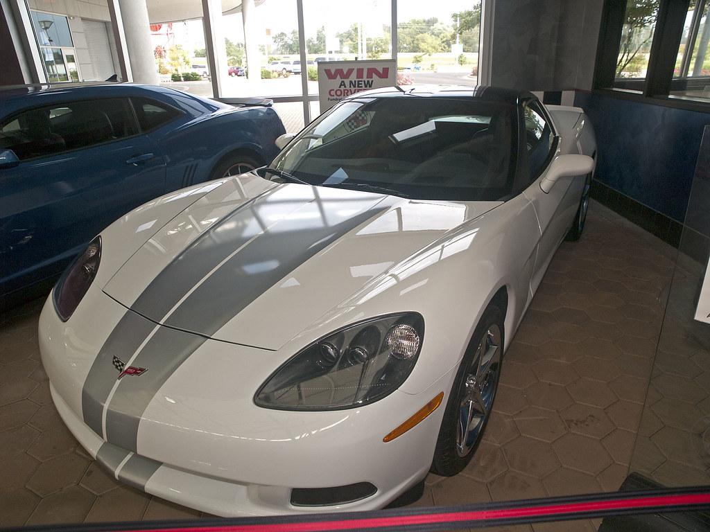 National Corvette Museum 08 27 2013 86 Raffle Corvette 1