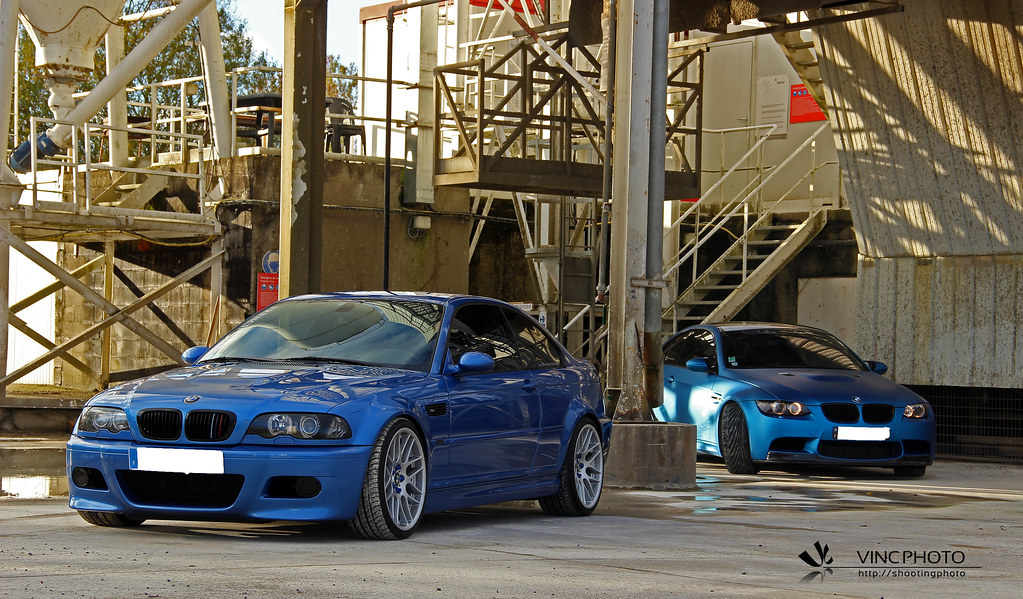 Duo Bmw M3 E46 Vs E92 Vincphotography Flickr