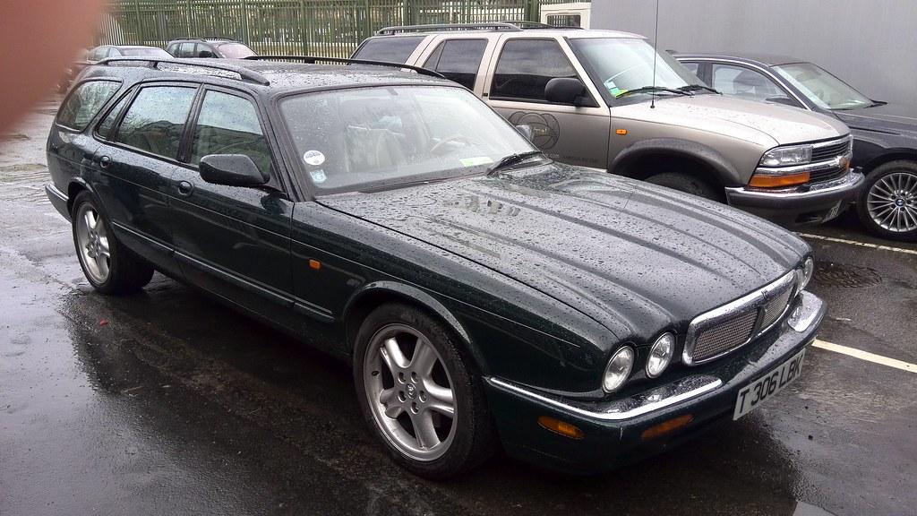 1999 Jaguar Xj Estate Lhd But Uk Registered Spotted In