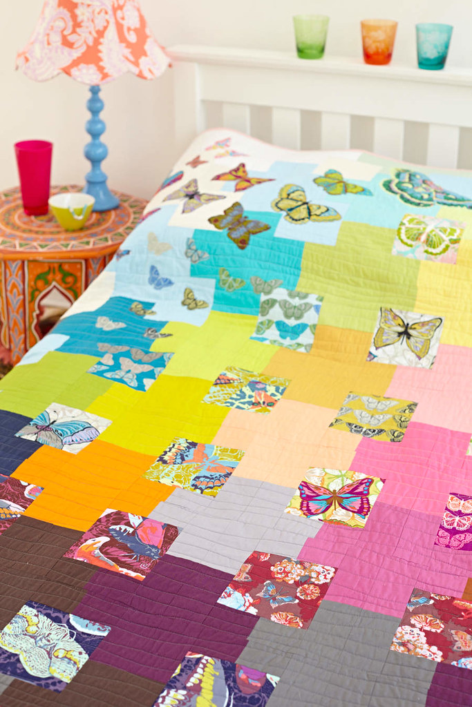 My Butterfly Quilt in Issue 4 of Love Patchwork & Quilting!