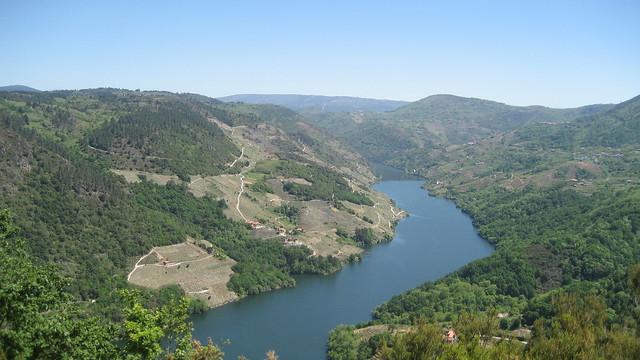 Río Sil en el PR-G 98 Cañón do Sil - Santa Cristina