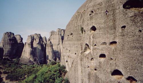 """Climbing """"Intifada"""" in Doupiani, Meteora"""