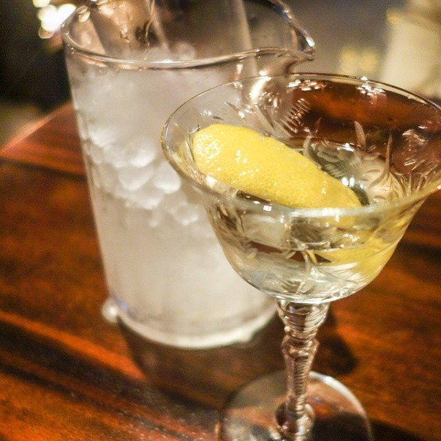 Reserve Tuxedo No. 2 ~ beefeater burrough's reserve gin, noilly pray ...