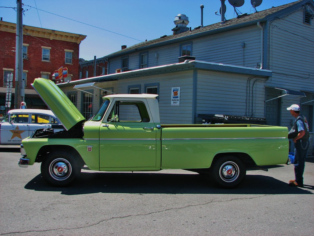 A 1964 Chevy C 10 In July 2014 Seen At The 2014 Sawyer
