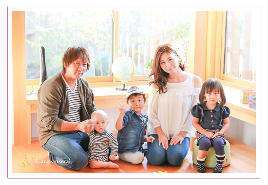 ひだまりフェス ひだまりほーむ 岐阜県岐阜市 プロカメラマンによる親子撮影会 家族写真 データ渡し