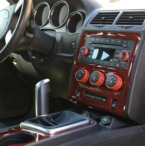 Officially Licensed Paint Matched Billet Interior Knobs Dodge Challenger Forum Challenger