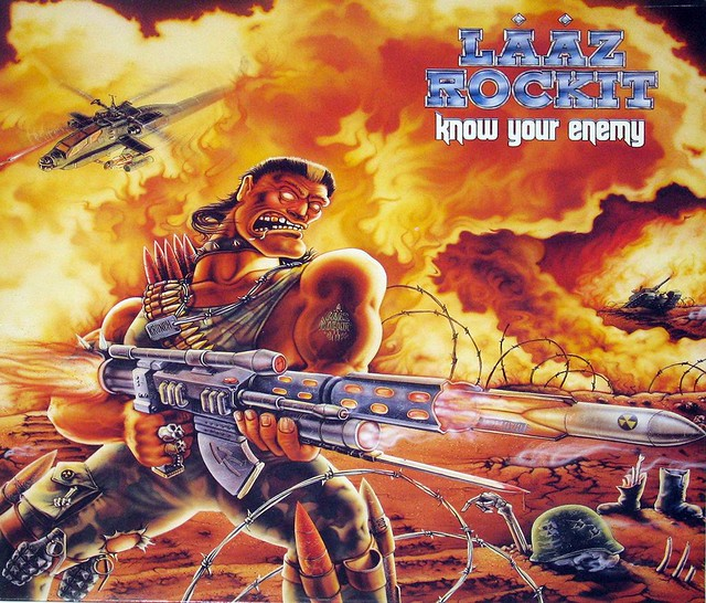 "Lääz Rockit KNOW YOUR ENEMY ENIGMA 12"" vinyl LP"