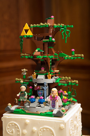 Legend Of Zelda Wedding Cake 1 The Wedding Day Arrived