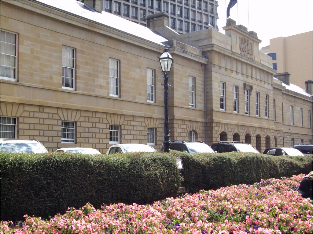 the tasmanian parliament was originally the customs house. Black Bedroom Furniture Sets. Home Design Ideas