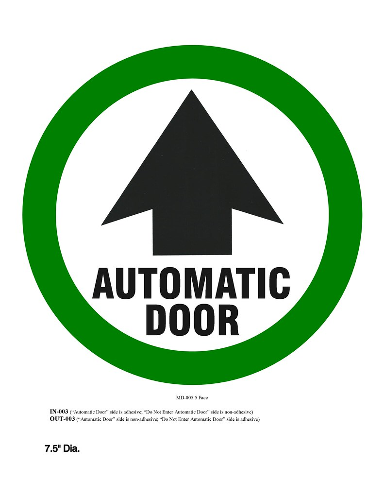 Besam automatic door decal this is what the s