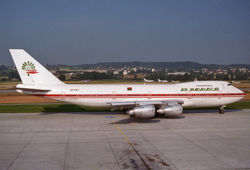 air madagascar boeing 747