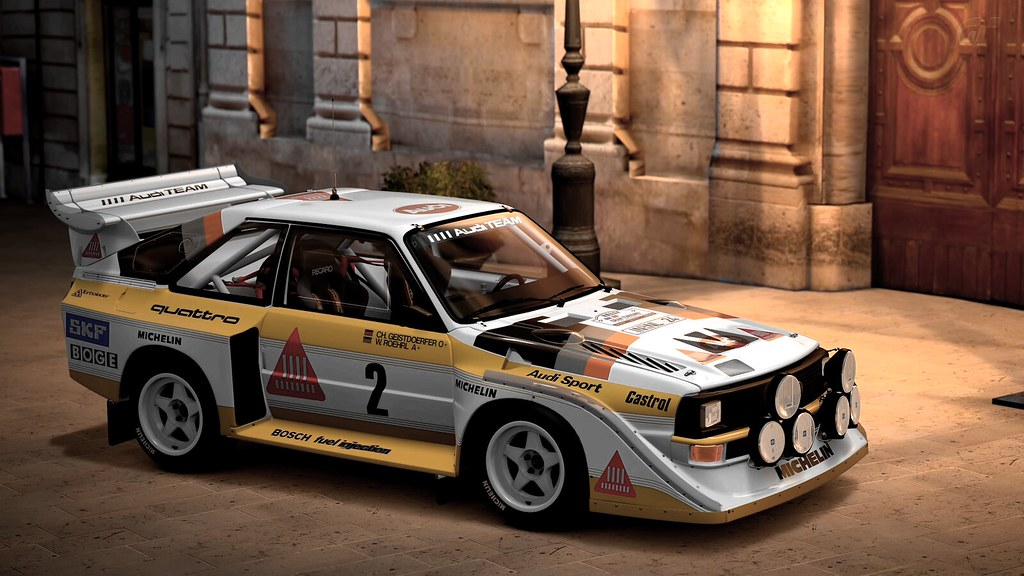 audi sport quattro s1 e2 39 86 2 walter rohrl gran. Black Bedroom Furniture Sets. Home Design Ideas