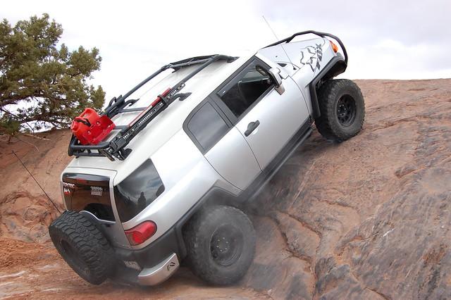 Toyota Terrain: steep grades