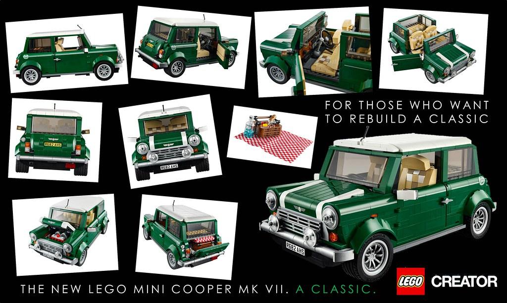 Lego Creator Mini Cooper 10242 Breakdown Amp Analysis