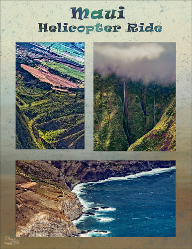 Images of Maui from a Helicopter