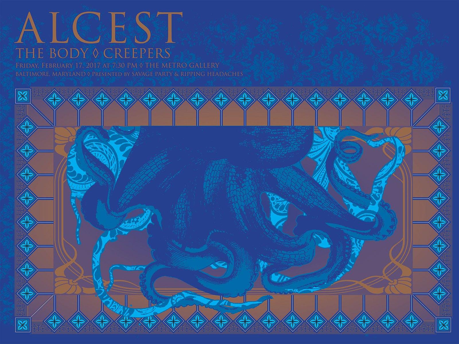 Alcest Tour Poster