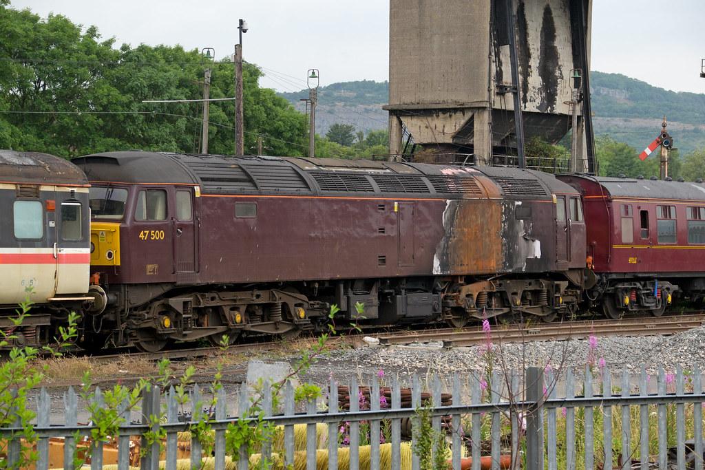 47500 At West Coast Railways Carnforth 23rd July 2013