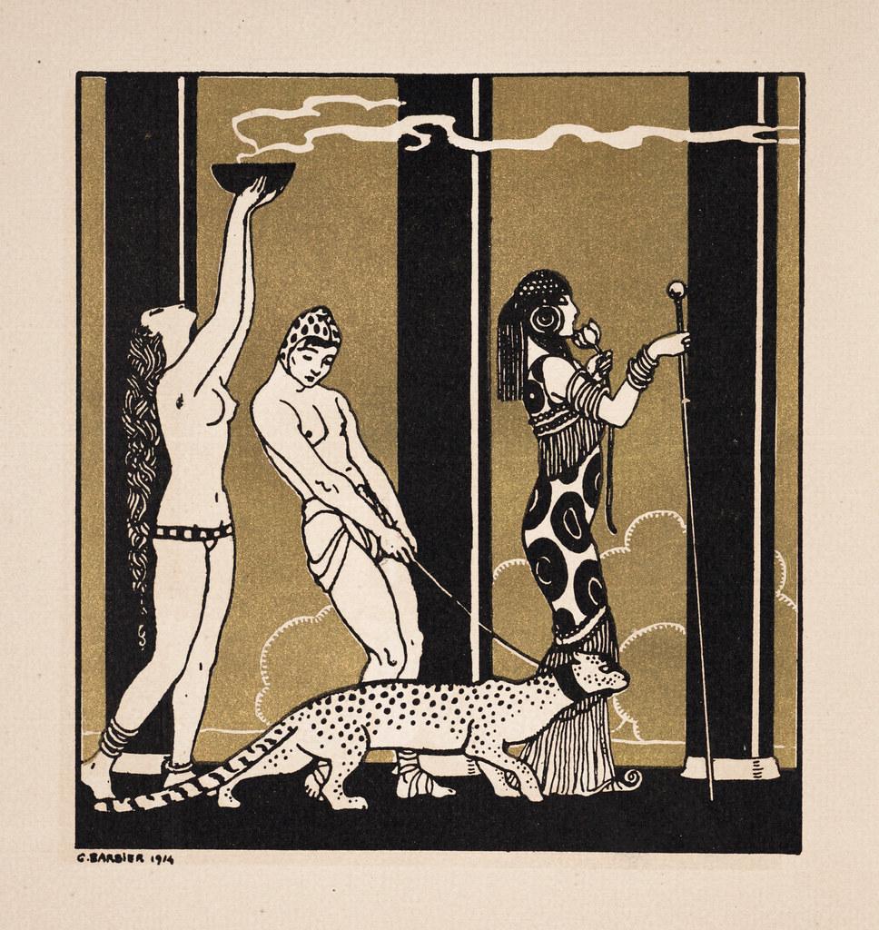 Illustration from 'Dix-sept dessins de George Barbier sur …   Flickr