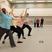 David Pickering coaches Liz Hargest and others in Monotones © ROH/Mat Smith, 2012