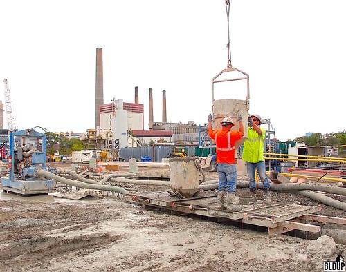 Wynn Boston Harbor Concrete Pouring