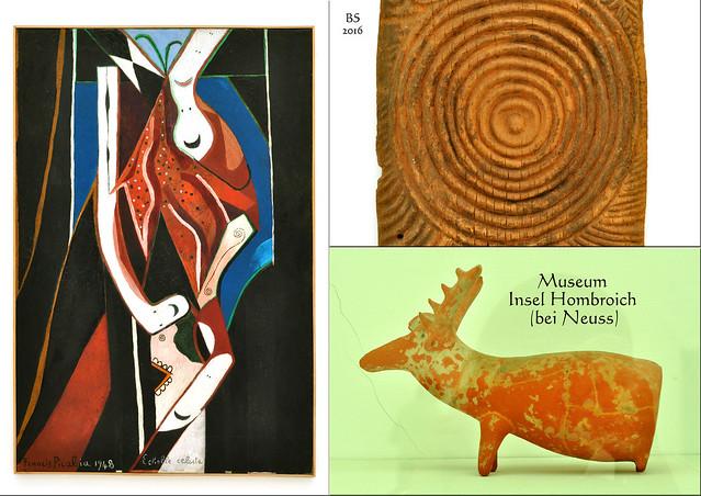 Museum Insel Hombroich 2016 ... Kunst und Künstler, bunt gemischt ... Fotos und Collagen: Brigitte Stolle