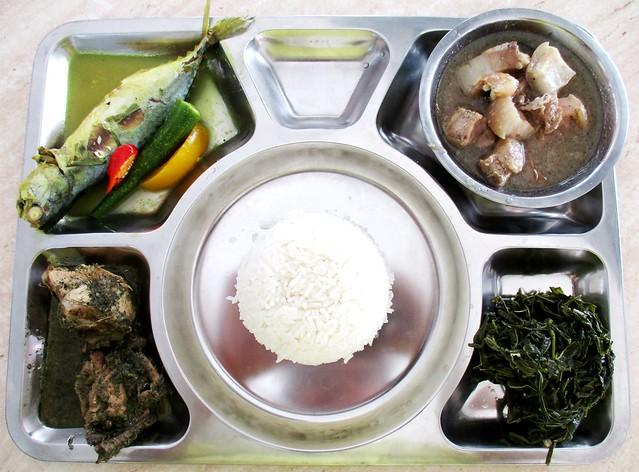 Anak Borneo nasi campur