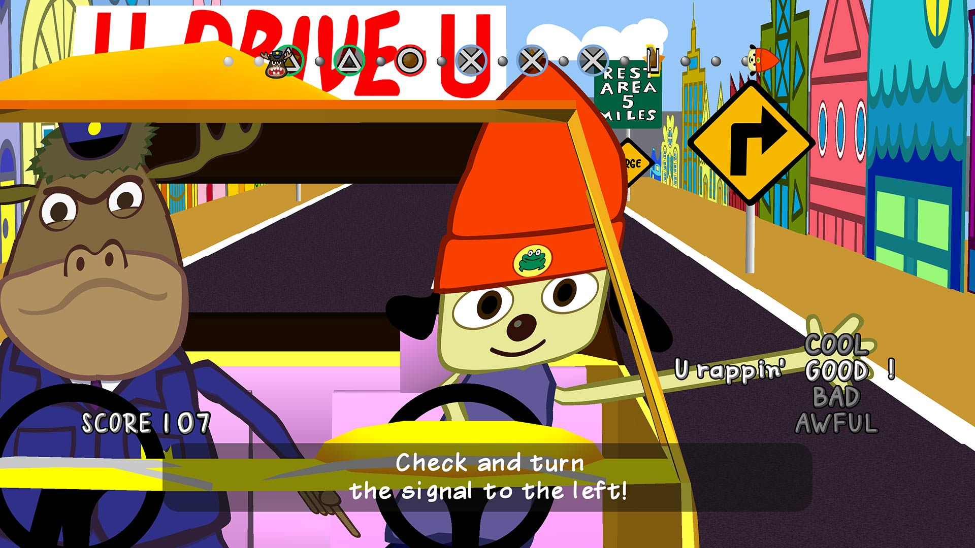 parappa remastered level 2