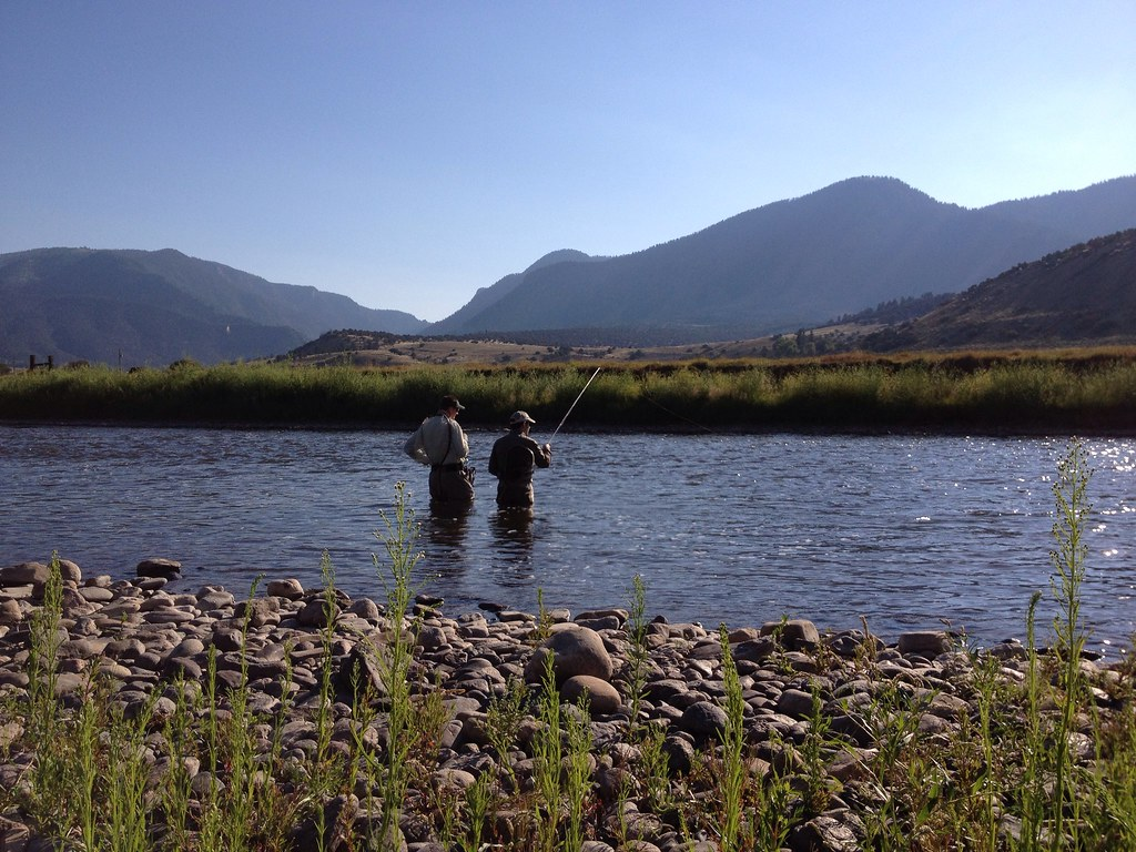 Colorado river guided fly fishing trip colorado river for Colorado fishing trips
