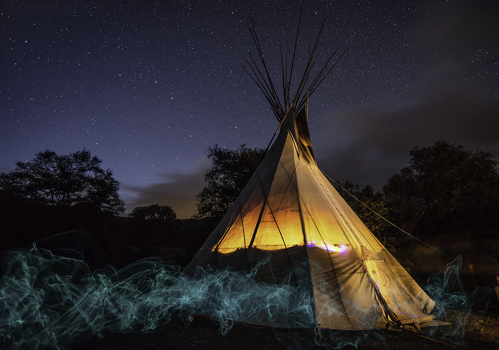 'Ethereal Nights' - Cledan Valley Tipis, Carno