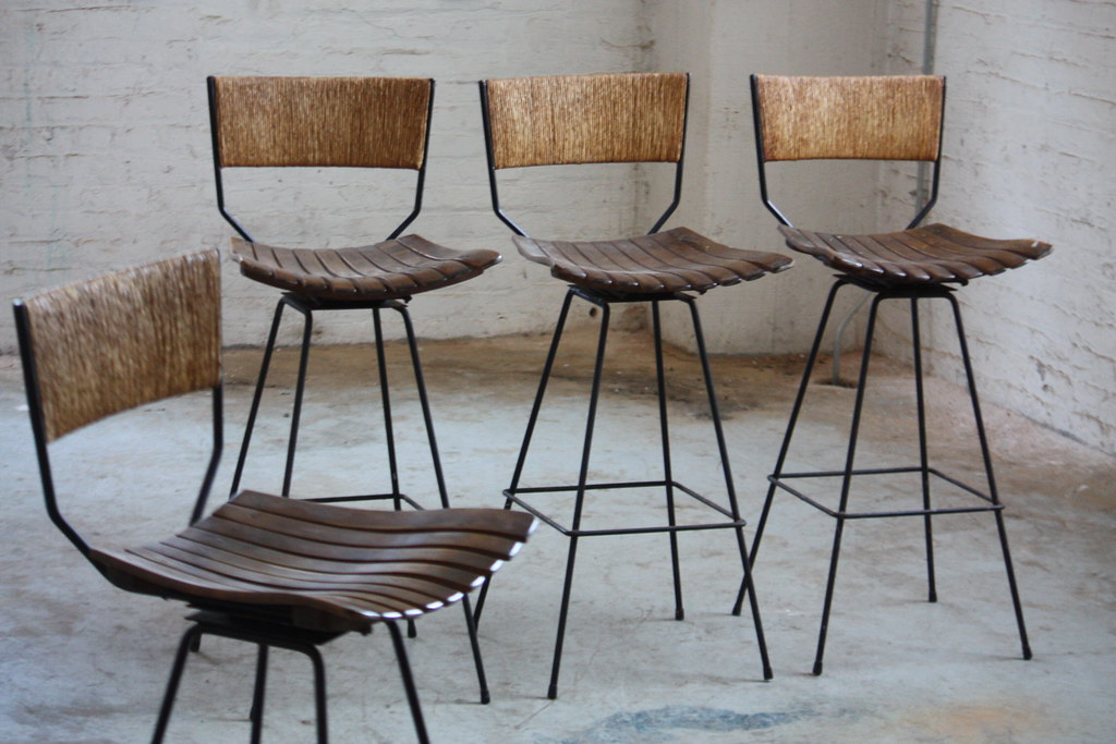 Outdoor Bar Stools With Backs And Arms