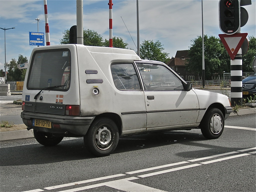 1987 PEUGEOT 205 XAD Multi While Driving Special