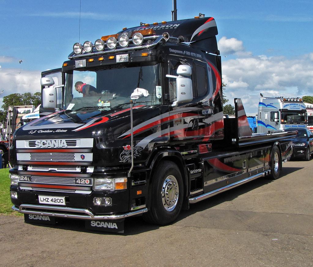 S J Davidson Motors Scania 124l 420 Tcab Lhz4200 At Truckf