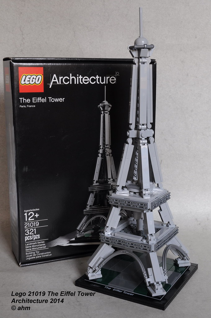 Lego 21019 the eiffel tower lego 21019 the eiffel tower t flickr - Lego architecture tour de pise ...