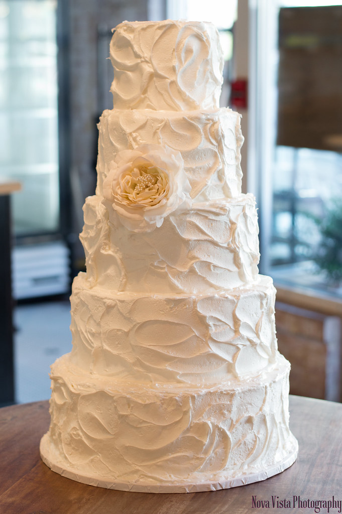 Tiered Wedding Cake For
