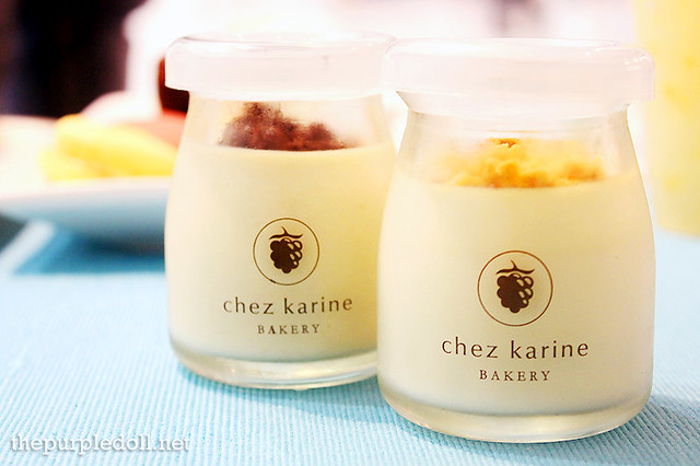 Chez Karine Cereal Milk Pudding and Muscovado Royal Pudding (P110 each)