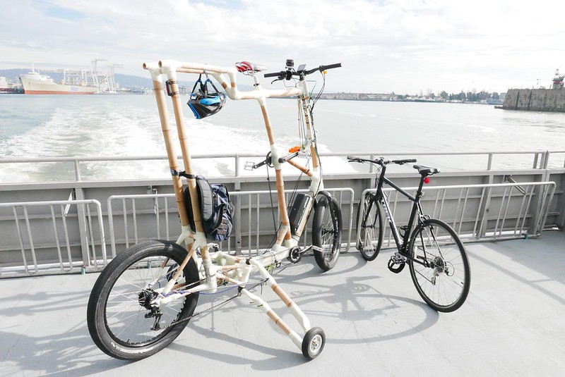 BooLander, new custom tall tandem, hits the streets and the National ...