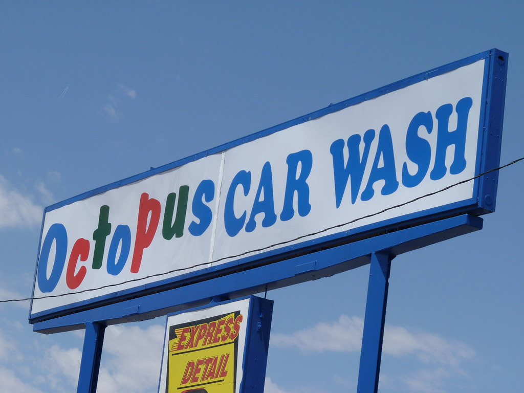 octopus car wash albuquerque nm this place figured in flickr. Black Bedroom Furniture Sets. Home Design Ideas