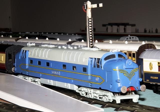 bassettlowke 0 gauge deltic locomotive flickr photo