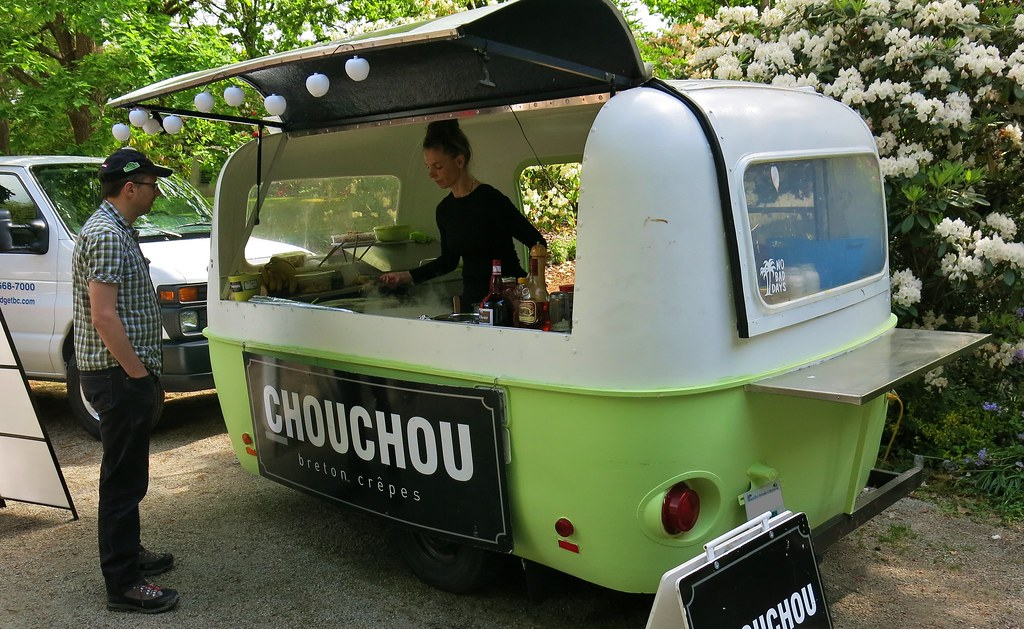 Boler Travel Trailer Mobile Vending Food Cart Chouchou
